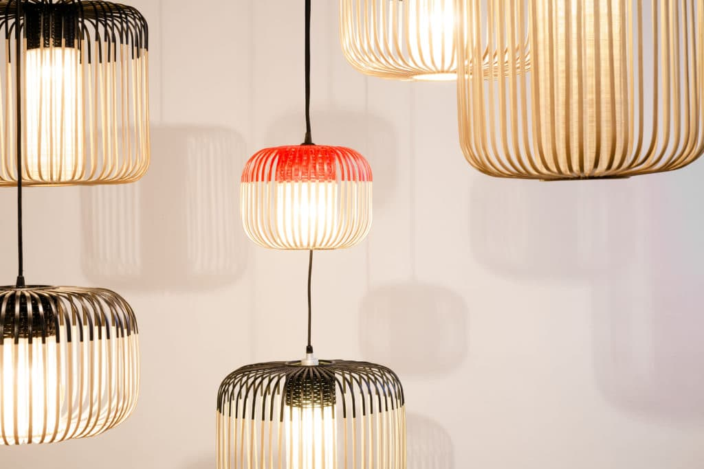 Lustre pas cher - Le lustre Bamboo Light by Arik Levy