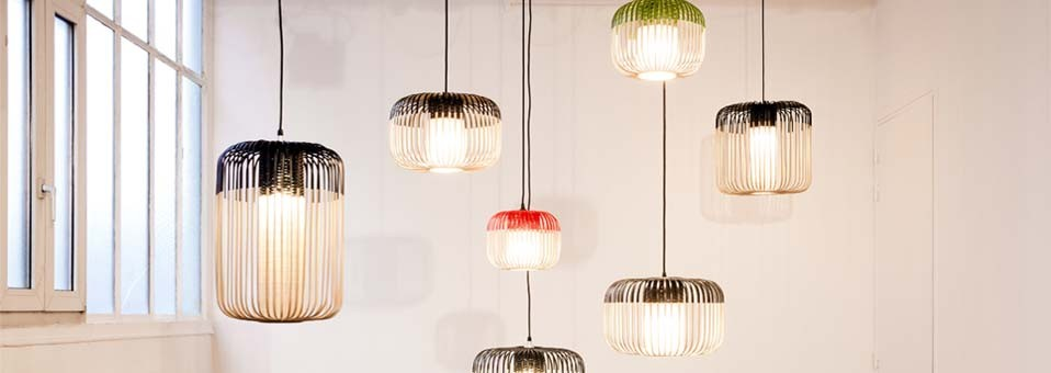La suspension Bamboo Light by Arik Levy