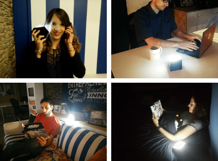 W lampe induction Emilie