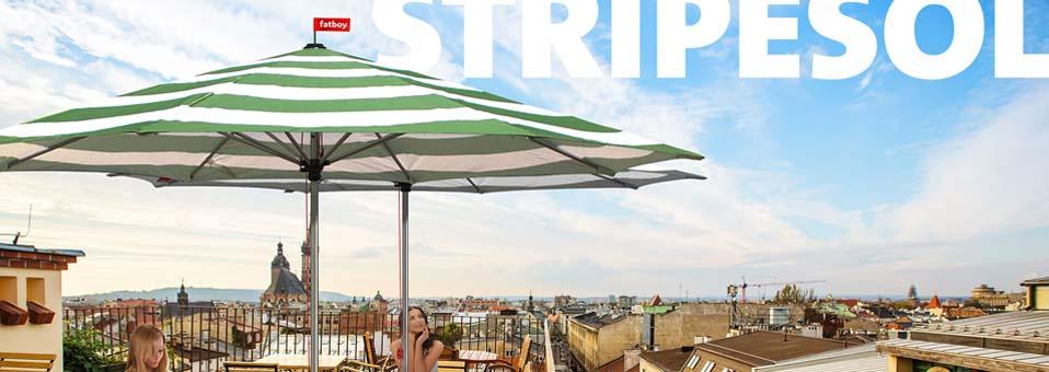 Stripesol parasol Fatboy1 - Trapilho - La suspension/étagère pour plantes