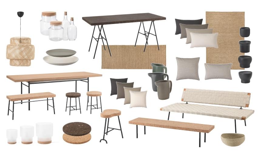 sinnerlig collection ikea en collaboration avec ilse crawford. Black Bedroom Furniture Sets. Home Design Ideas