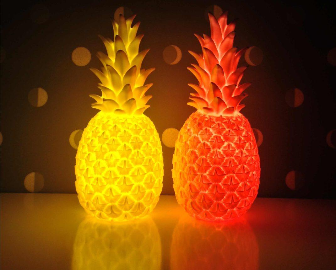 lampe veilleuse ananas by lorena canals et eva newton. Black Bedroom Furniture Sets. Home Design Ideas