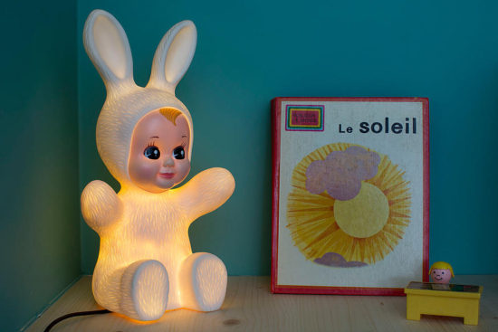 lampe veilleuse bunny baby