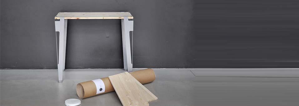 pieds de table design modulables nomades Avec Ceci1 - Gagnez le lampadaire Giraffe by Benny Frandsen