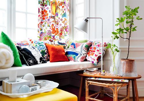 Pour une décoration colorée dans le salon