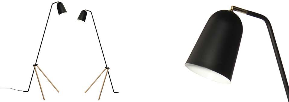 lampadaire design Giraffe