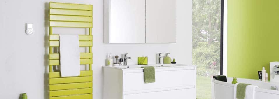 radiateur sèche serviettes couleur Atlantic1 - Le radiateur sèche serviettes couleur : nouvel atout de votre salle de bain