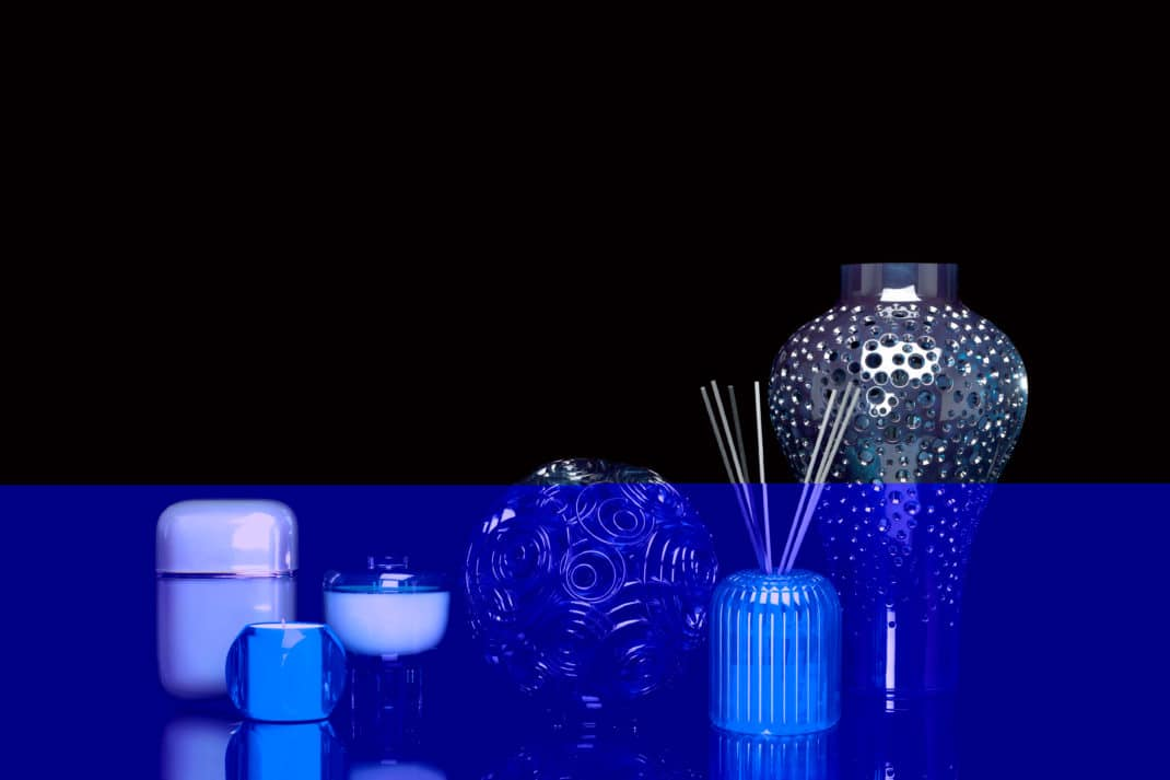 diffuseur de parfum Cache Cache Kartell Fragrances Ferruccio Laviani
