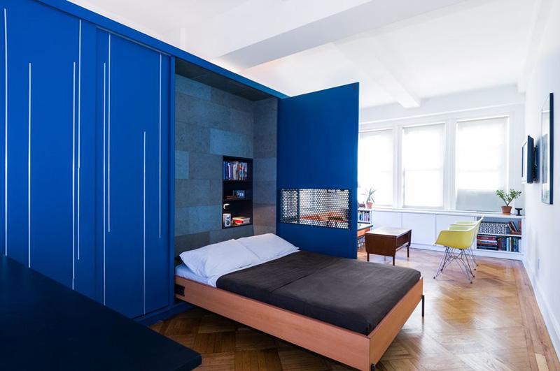 Gagner de la place dans un petit appartement Michael K Chen Architecture