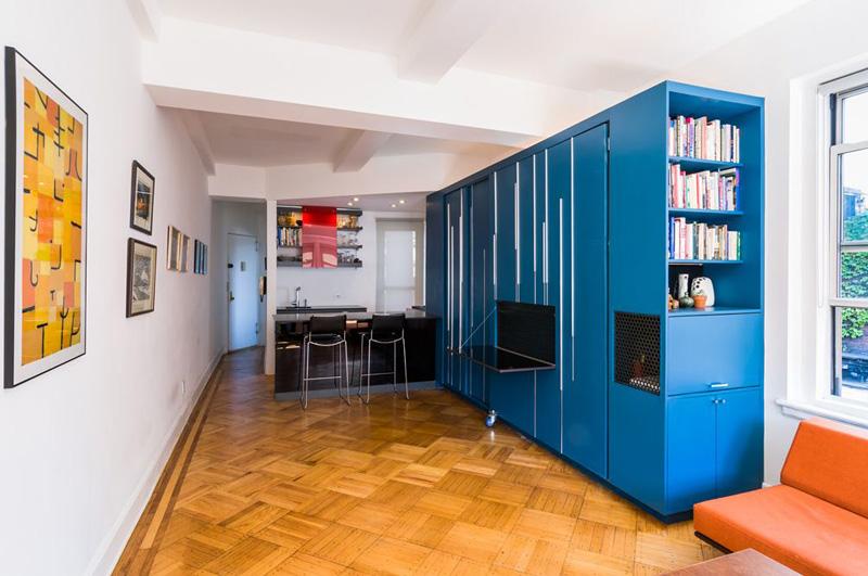 gagner de la place dans un petit appartement. Black Bedroom Furniture Sets. Home Design Ideas