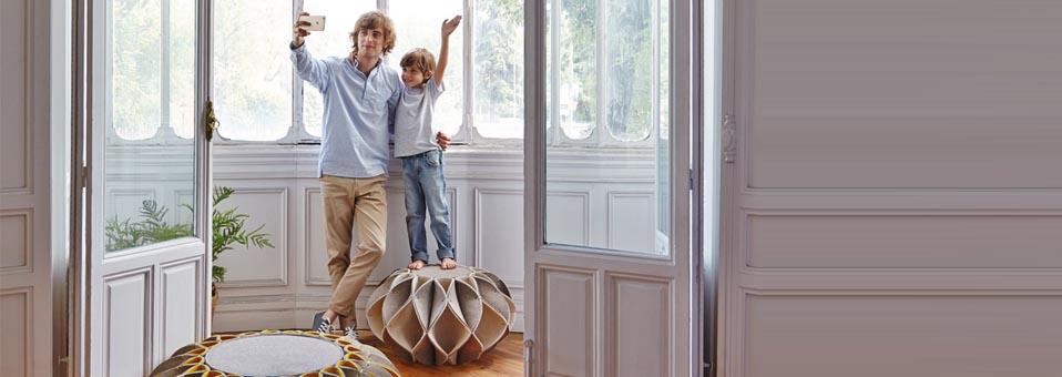 Gan Rugs - Gan Rugs présente ses nouveaux produits déco design