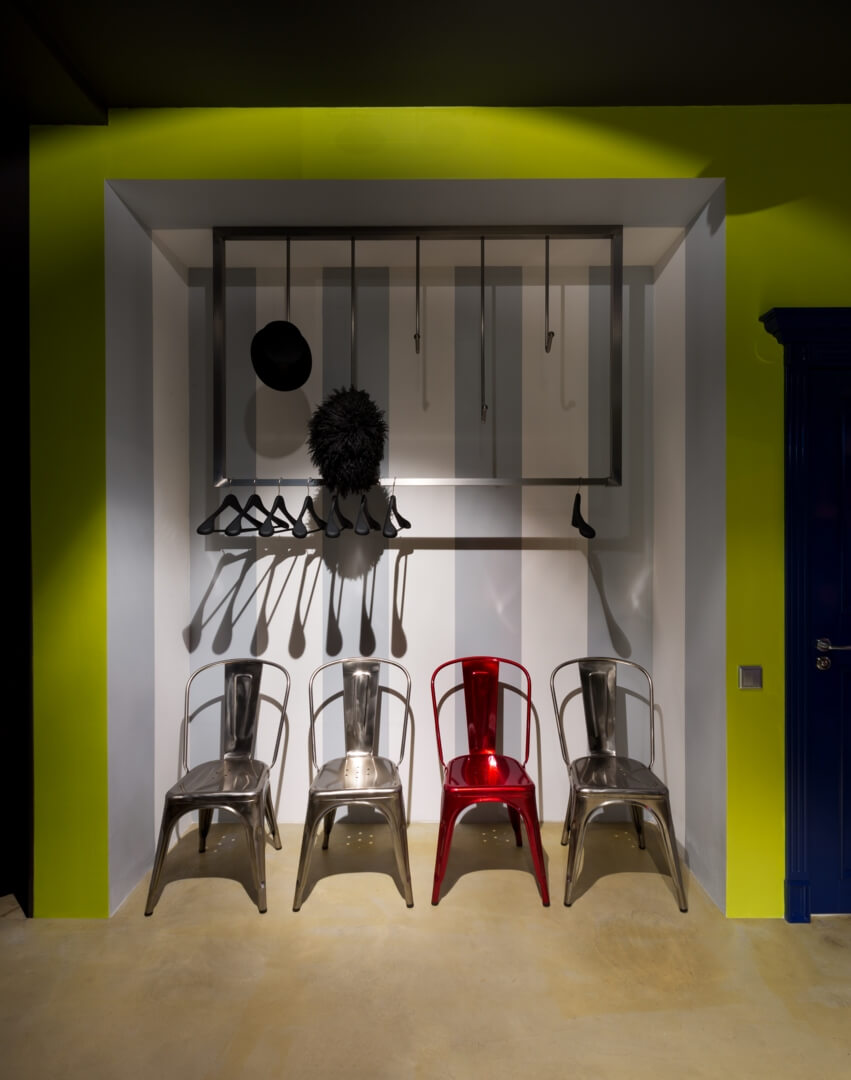 Intérieur déco studio éclectique Baraban + Design Studio
