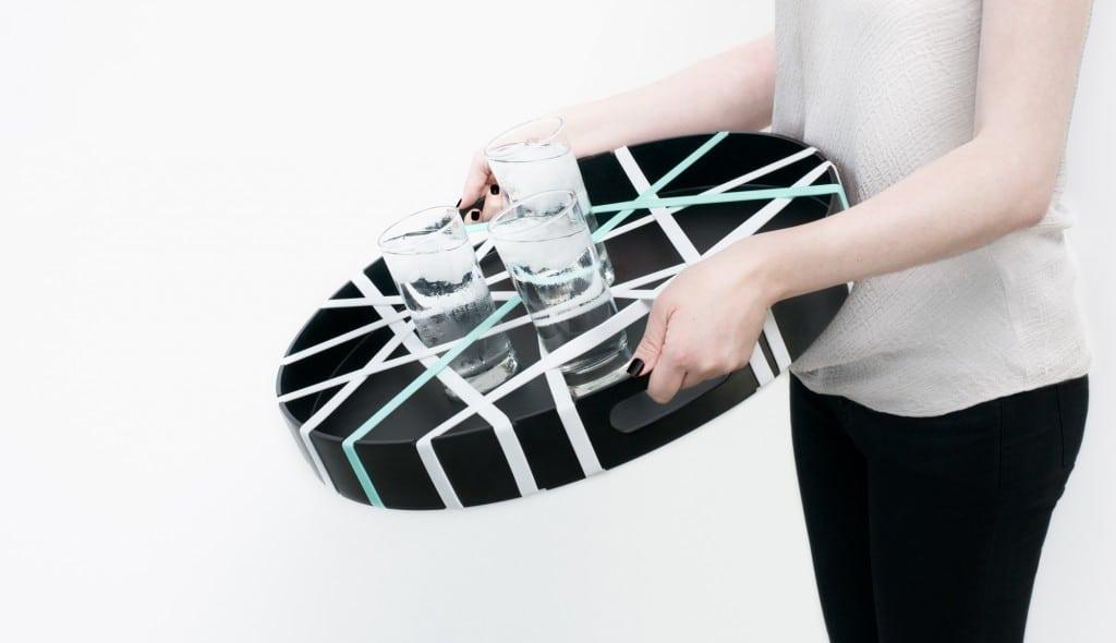 Le plateau design et graphique Grip Band