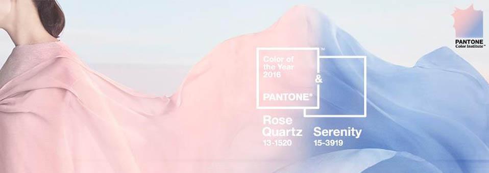 couleur de l 39 ann e 2016 rose quartz et serenity. Black Bedroom Furniture Sets. Home Design Ideas