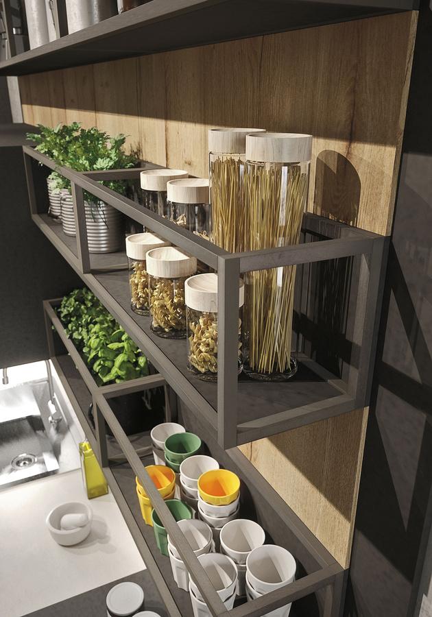 snaidero d voile trois cuisines id ales pour un loft. Black Bedroom Furniture Sets. Home Design Ideas