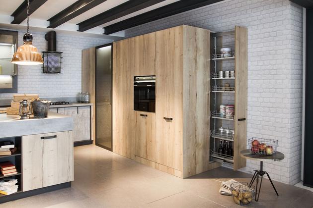 Snaidero d voile trois cuisines id ales pour un loft for Cuisine moderne loft