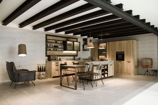 Cuisine Moderne Design Avec Ilot : Snaidero dévoile trois cuisines idéales pour un loft
