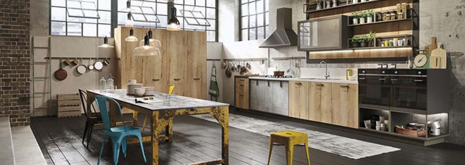 Snaidero cuisine loft - Revolve - Un canapé convertible révolutionnaire