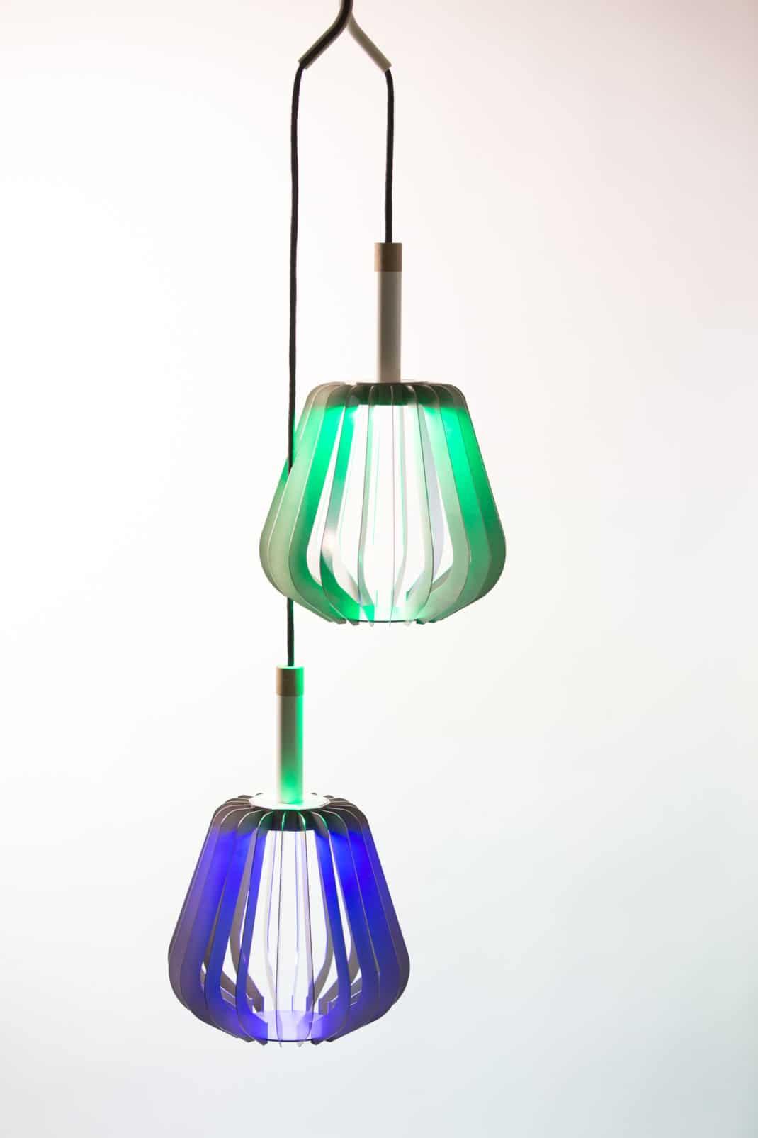 Houat Puzzle Lab NoDesign baladeuse LED lampe connectée