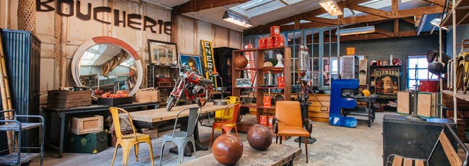 boutique deco industrielle - Déco Industrielle - Où acheter des objets et du mobilier industriel ?