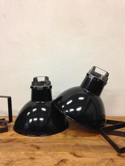 deco industrielle lampe Mazda