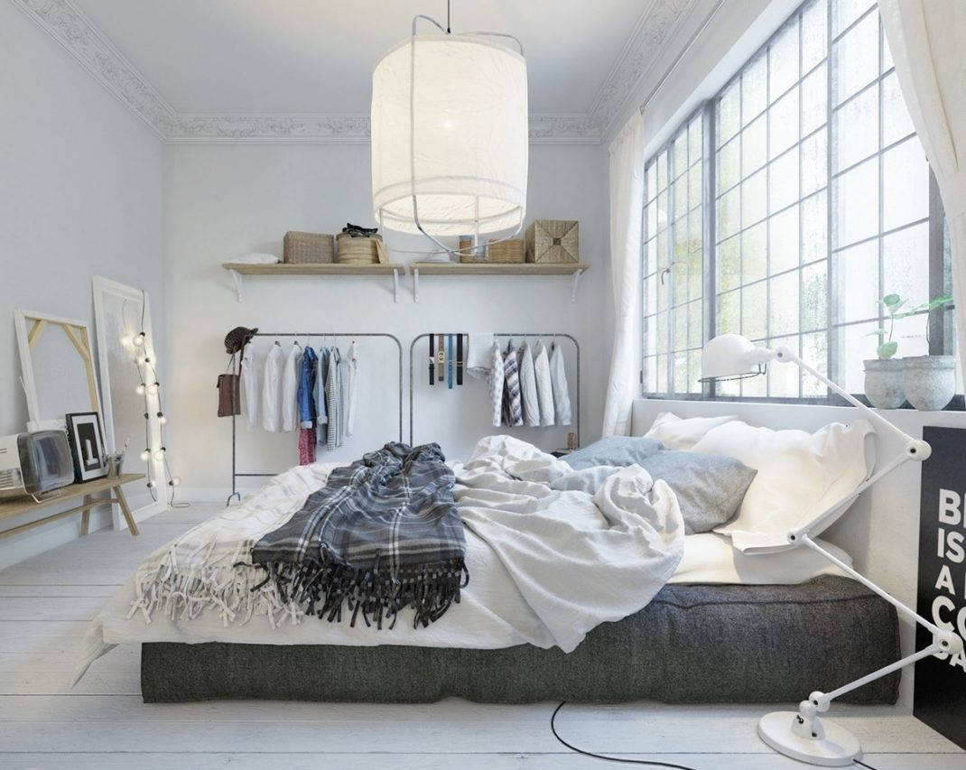 d coration de chambre scandinave id es et inspirations. Black Bedroom Furniture Sets. Home Design Ideas