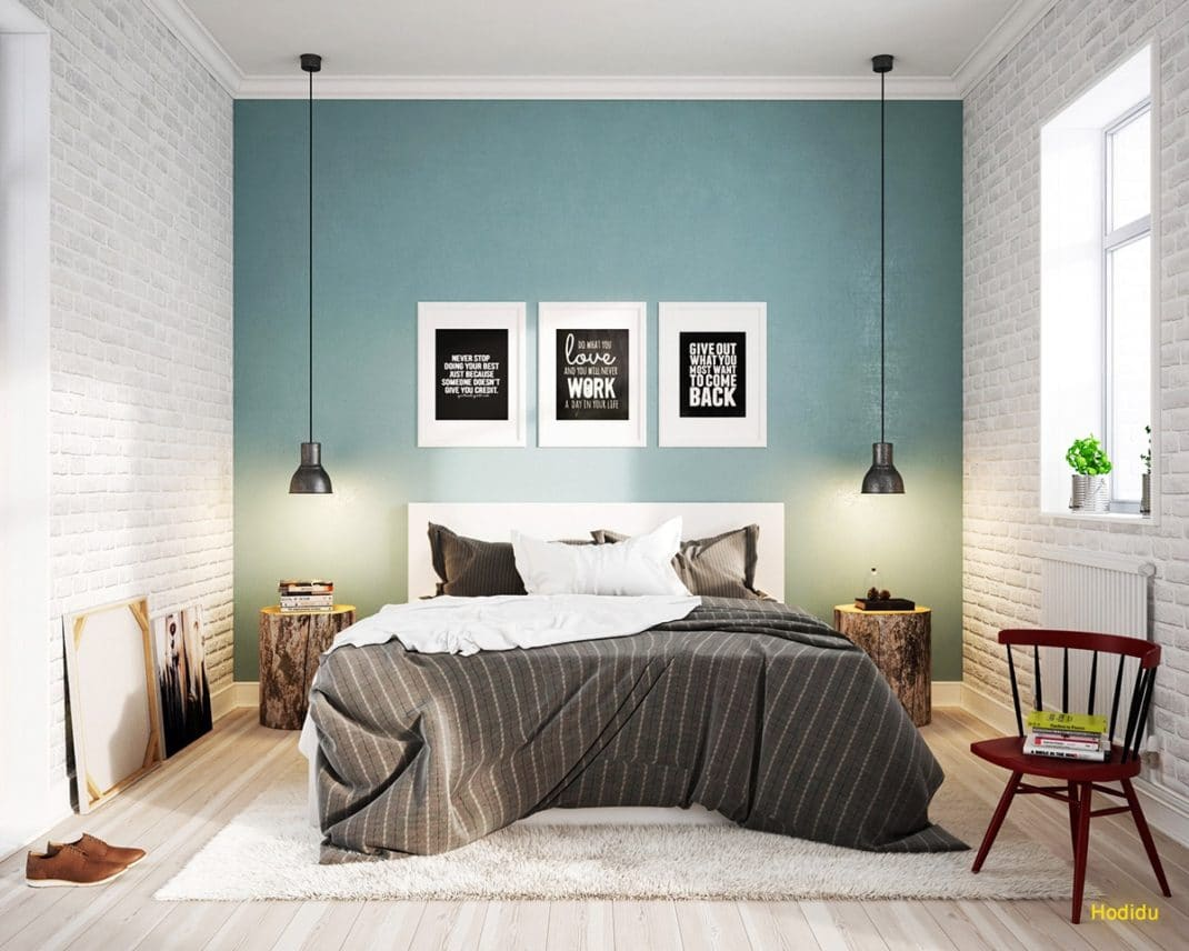 D coration de chambre scandinave id es et inspirations for Photo decoration chambre