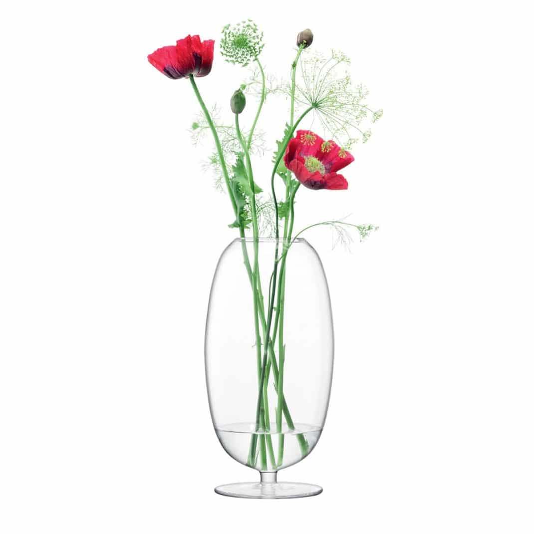 decorations en verre LSA International vase Olivia