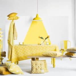 H&M Home jaune