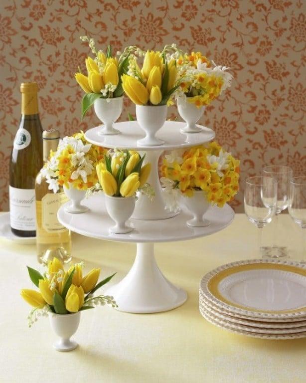 60 d coration de table pour p ques le blog deco tendency - Decor de table pour paques ...