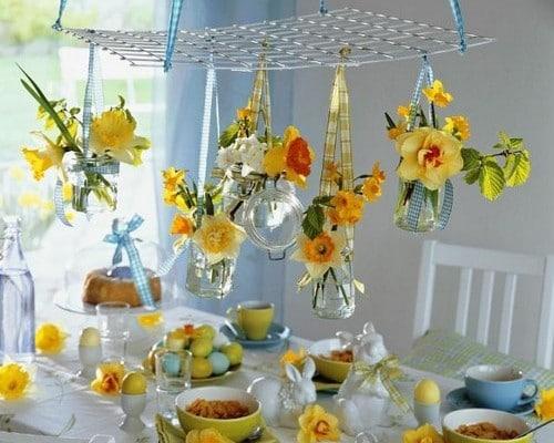 60 d coration de table pour p ques le blog deco tendency for Paques decoration