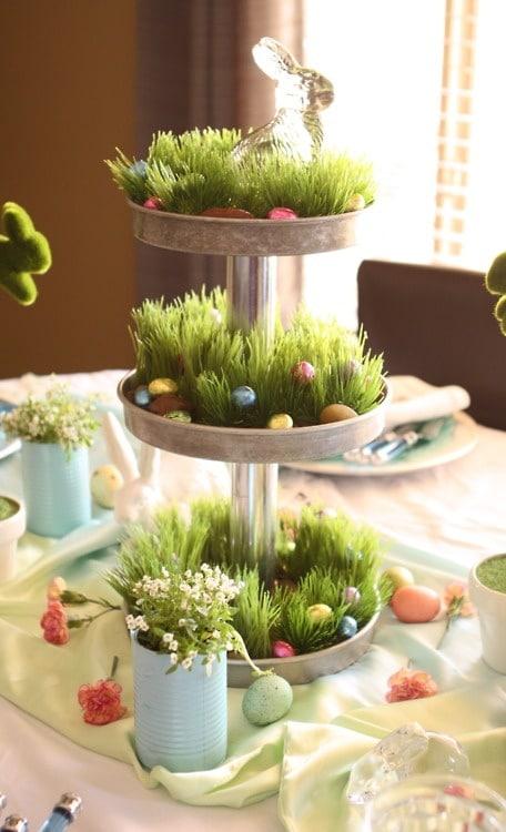 60 décoration de table pour Pâques  Le Blog Deco Tendency