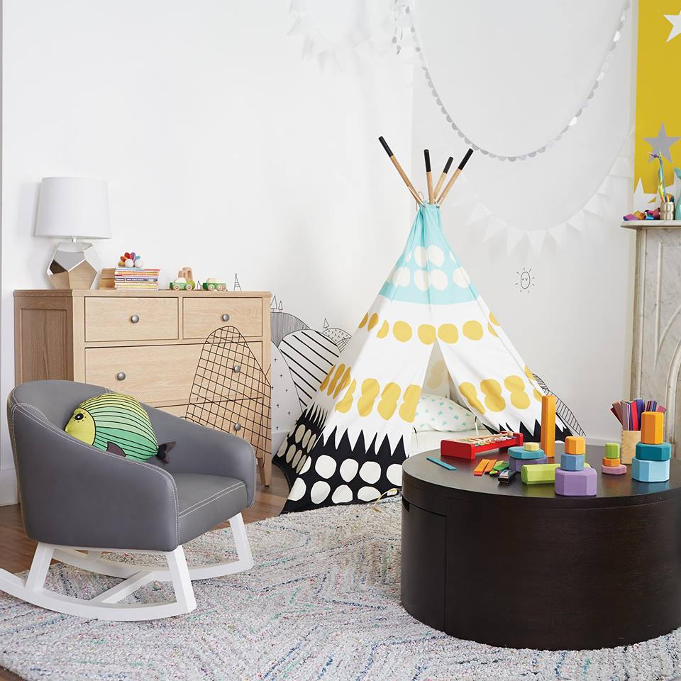 magasins de decoration The Land of Nod