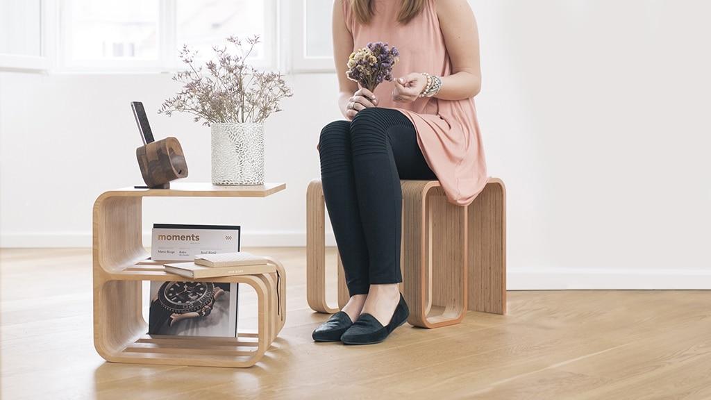 woodieful un meuble multifonction au design intemporel. Black Bedroom Furniture Sets. Home Design Ideas
