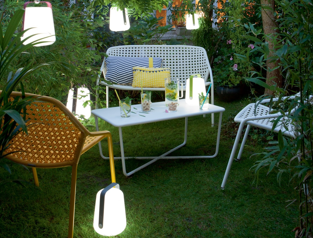 Lampes design :lampe sans fil Balad Tristan Lohner Fermob
