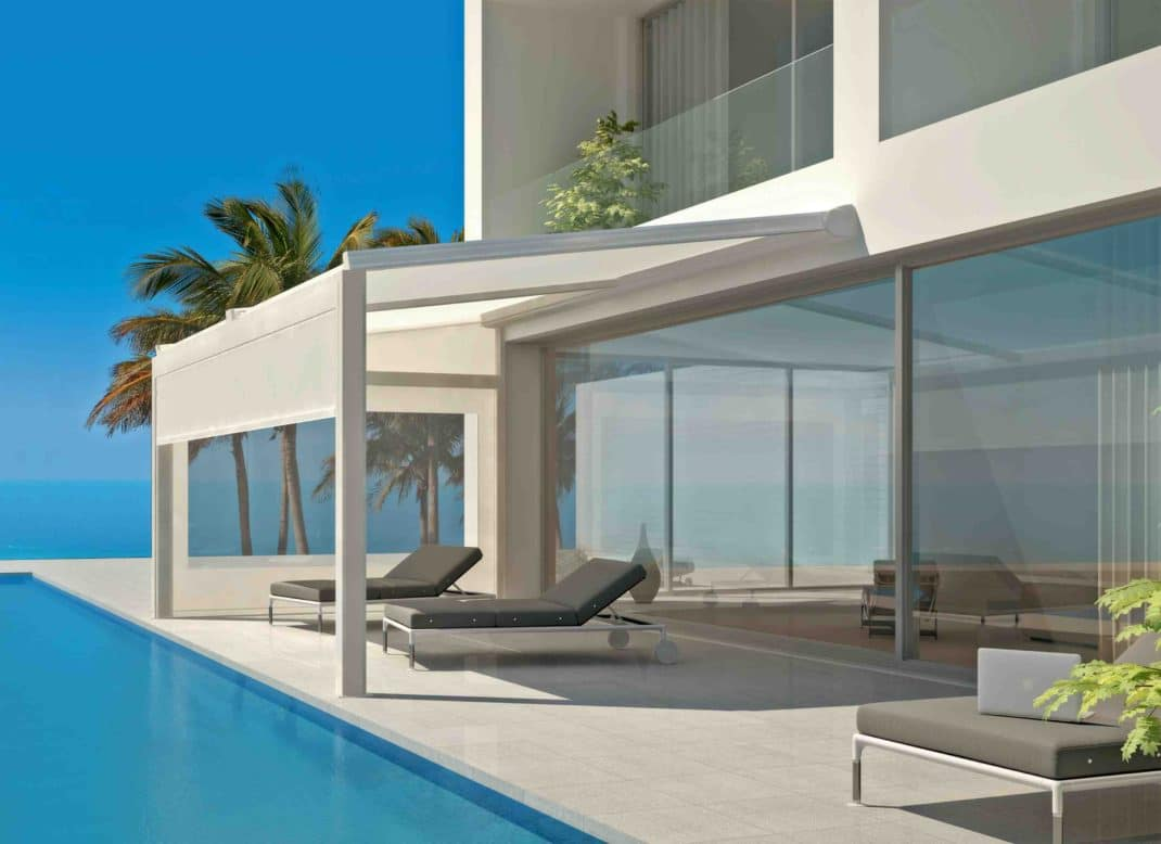 Am nager sa terrasse avec des pergolas bioclimatiques Amenager sa terrasse avec des plantes