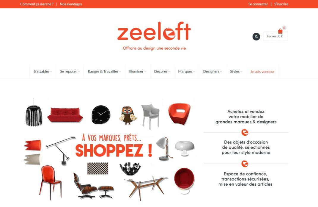 zeeloft - revendre et acheter du mobilier design d'occasion - Meuble Design Occasion