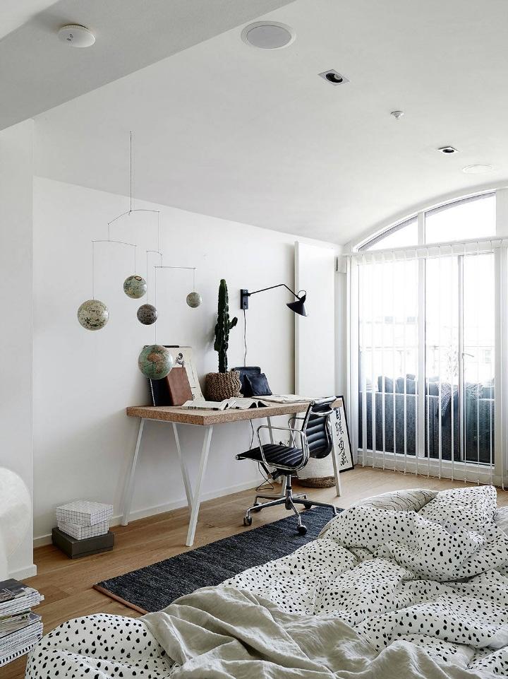 am nager un appartement mansard en duplex deco tendency. Black Bedroom Furniture Sets. Home Design Ideas