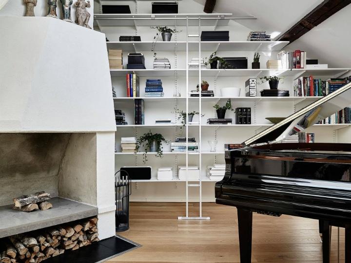 Fabuleux Aménager un appartement mansardé en duplex | Deco Tendency VY62