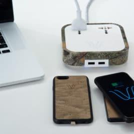WoodieHub chargeur de smartphone 267x267 - WoodieHub - Le chargeur de smartphone hyper design