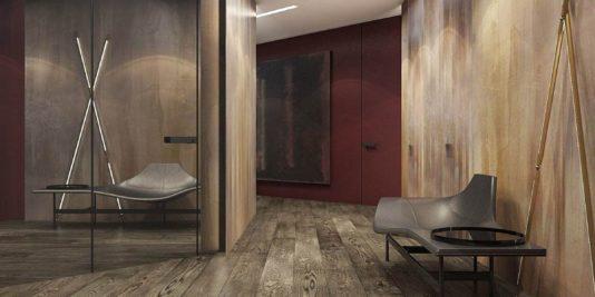 appartement moderne aux légers accents classiques 11 534x267 - Visite d'un appartement moderne aux légers accents classiques