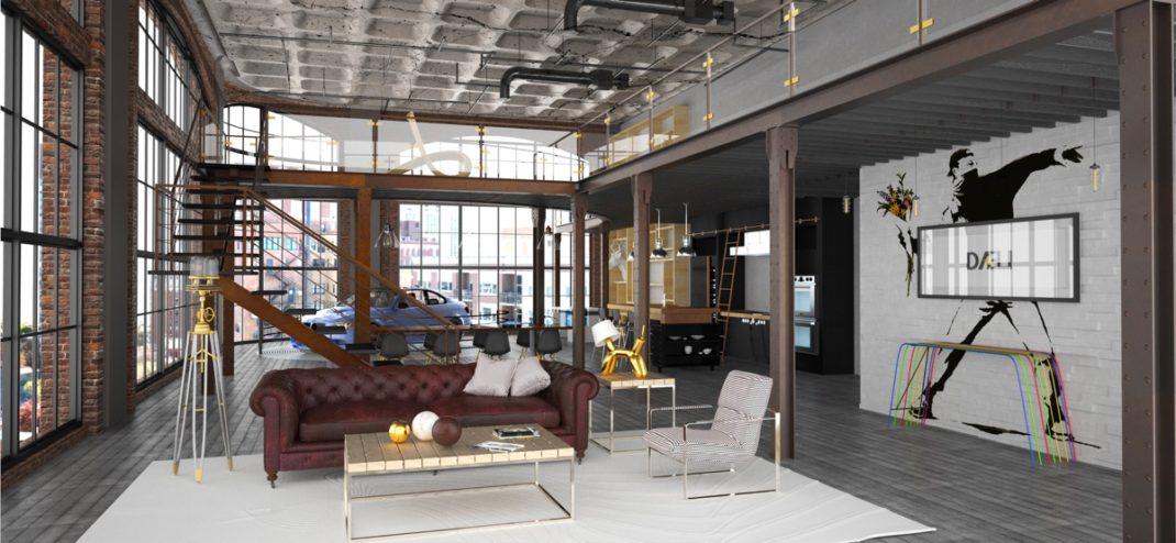 lofts minimalistes