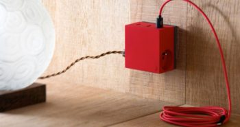 chargeur USB design hide