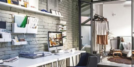 loft rustique et moderne