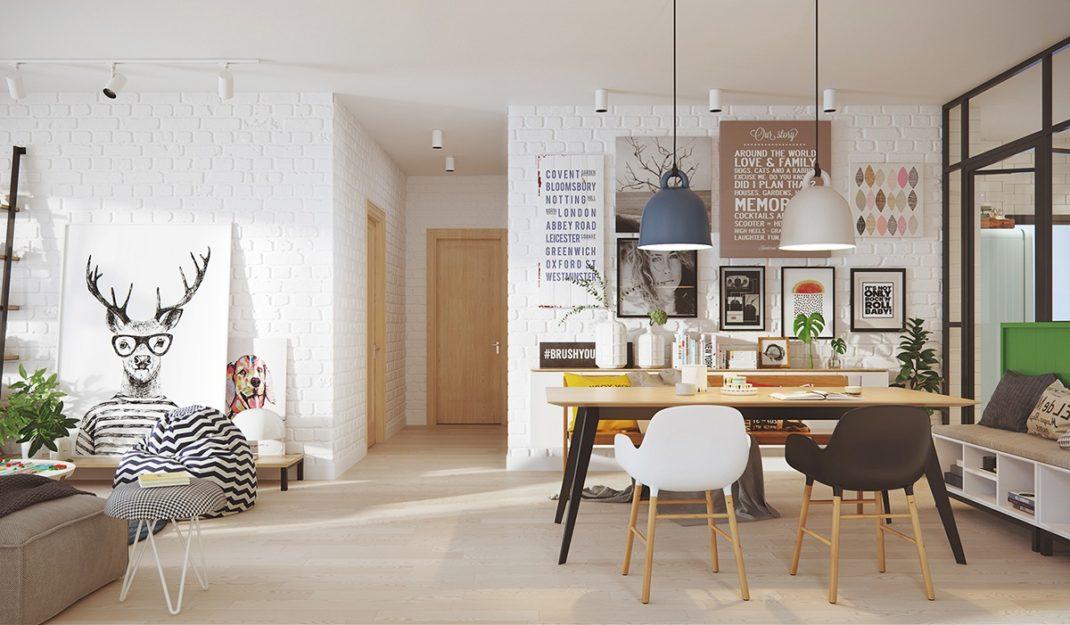 Exceptionnel Style scandinave moderne pour une maison vivante | Deco Tendency VU13