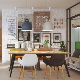style scandinave moderne 9 267x267 - Un style scandinave moderne pour une maison vivante