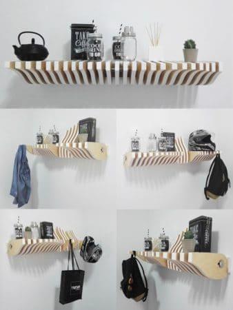 Köllen étagères modulaires design