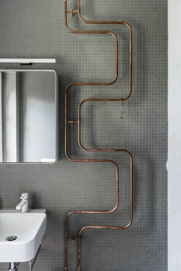 salles de bains design vintage industriel