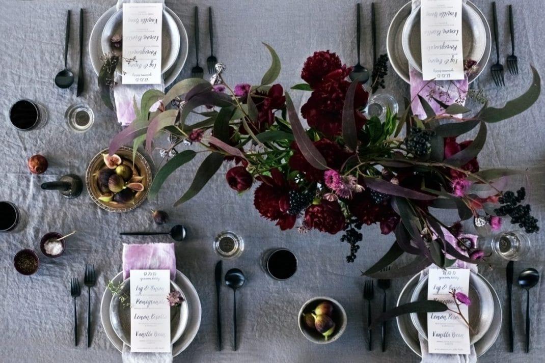 Déco table automne