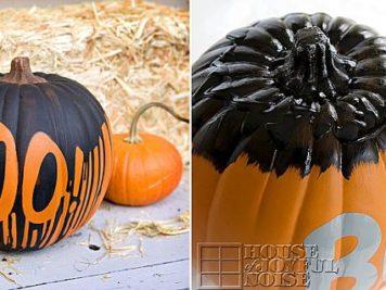 Idées déco pour Halloween conseils pour peindre vos citrouilles 5 356x267 - Idées déco pour Halloween : 25 conseils pour peindre vos citrouilles